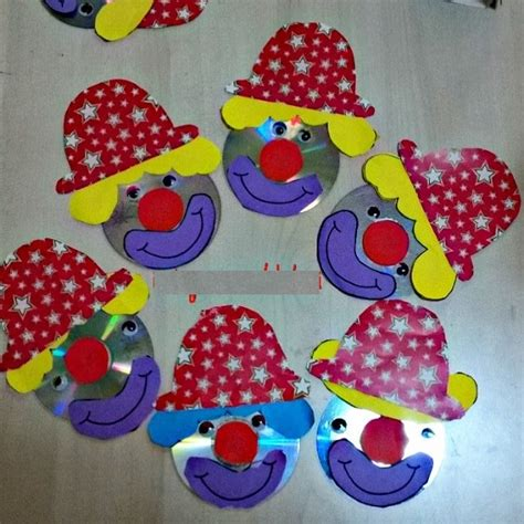 clown template preschool crafts actvities and worksheets for preschool toddler and