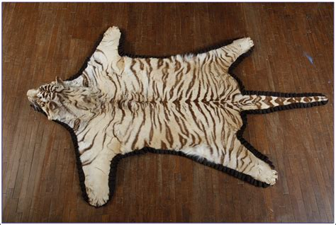 tiger skin rug with tiger skin rug with rugs ideas