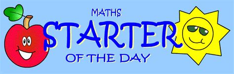 mental maths challenge a 10 minute maths challenge to start every lesson for the