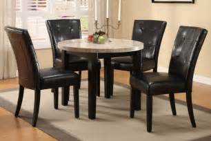 kitchen and dining furniture table and chairs write