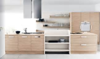 White Kitchen Set Furniture Modern White Oak Kitchen Furniture Set Interior Design Ideas