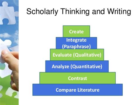writing a scholarly paper scholarly writing presentation