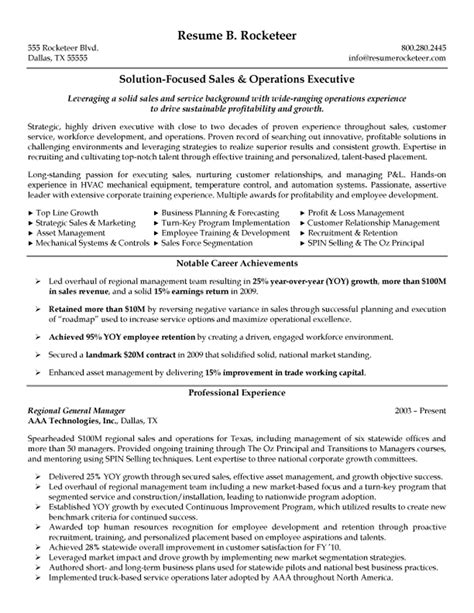 resume exles templates free sle detail executive