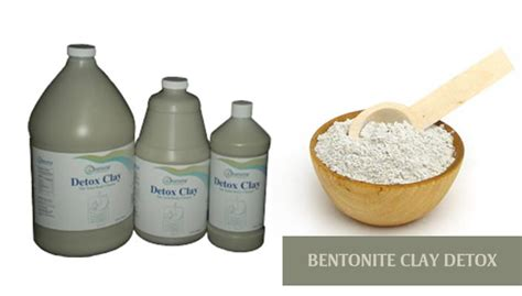 Benzonite Clay For Detox by Bentonite Clay Detox Best Clay Bath Recipe Symptoms