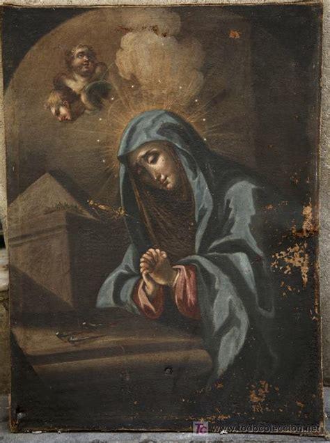 restaurar imagenes religiosas pintura religiosa tela antigua s xviii por res comprar