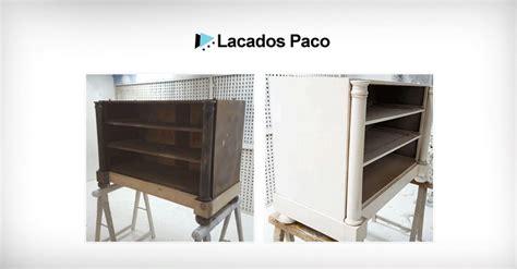 lacar muebles antiguos barnizado de muebles antiguos archivos lacados paco
