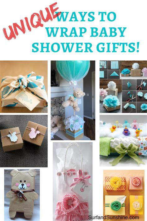 Baby Shower Gifs by Baby Shower Gifts And Clever Gift Wrapping Ideas