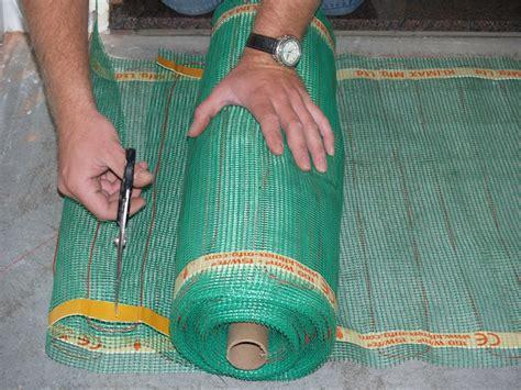 tappeti riscaldanti elettrici immagine quickheat floor riscaldamento elettrico a pavimento