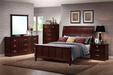 baxton studio argonne queen size  piece modern bedroom set home furniture bedroom