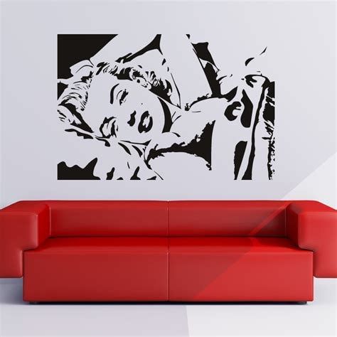 Art Wall Stickers marilyn monroe icons and celebrities wall art decals wall