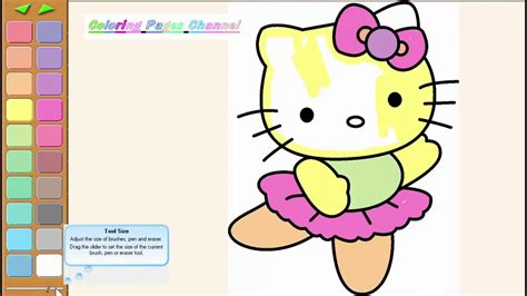 hello kitty coloring pages youtube hello kitty coloring pages hello kitty kleurplaten
