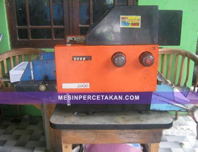 Mesin Offset Mini mesin percetakan mini offset mb 2000 harga murah