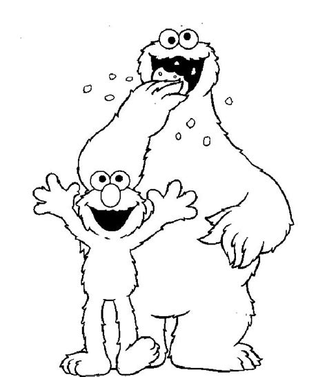 coloring page elmo sesame street elmo coloring pages coloring home