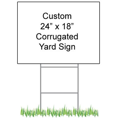 caign yard sign templates dg promo designer graphics promotional items