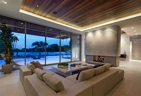 lounge room contemporary architecture and interiors on sunset strip