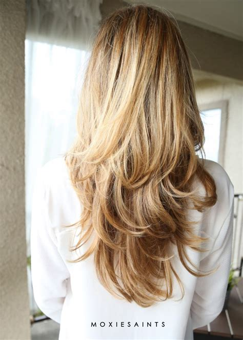 baby layered hair long layers sombre with faded ombre perfect long layered