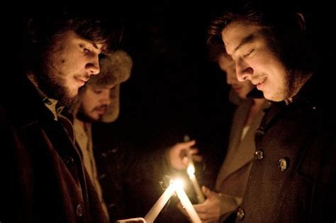 mumford fireplace candles fire men mumford and sons winter image