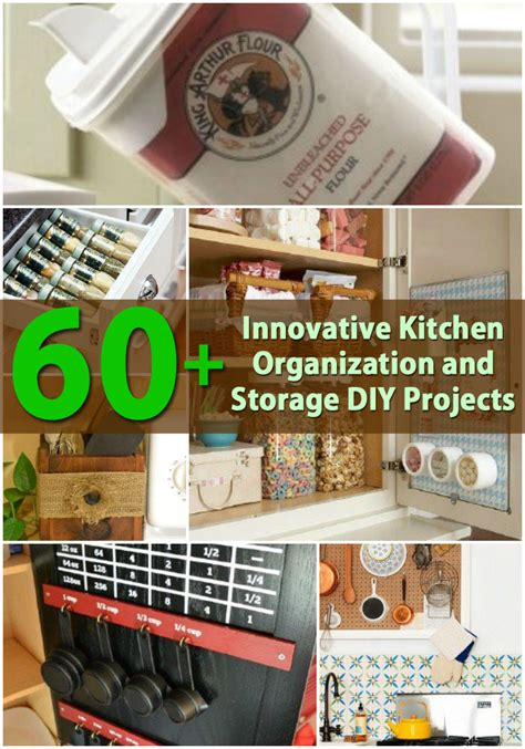 kitchen projects ideas 60 innovative kitchen organization and storage diy