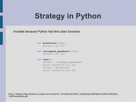 visitor pattern compile patterns in python