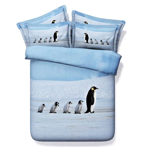 penguin comforter penguin comforter set 3d animal bedding duvet cover bed in