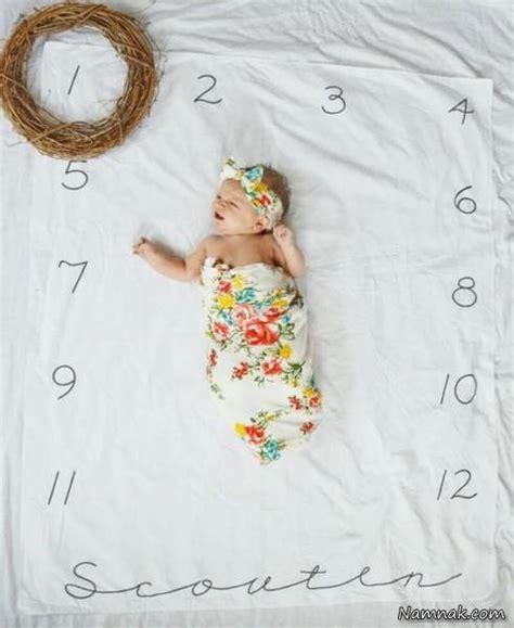 mneder p foto 4 months on photo ایده های جالب عکس آتلیه ماهگرد نوزاد 1 تا 12 ماهه