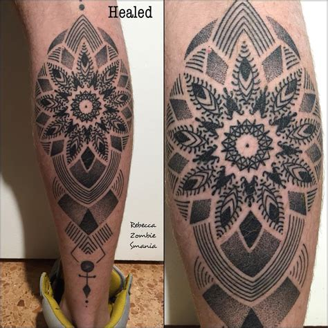 dotwork tattoo dotwork mandala best ideas gallery