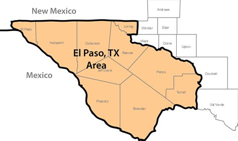 map of west texas area contractor directory