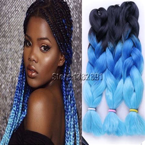 pictures of blue hair braided into brown hair knitting how to creatys for