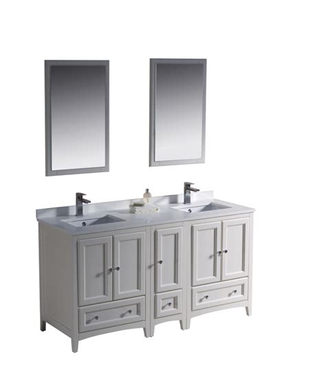 60 inch white bathroom vanity double sink 60 inch double sink bathroom vanity in antique white