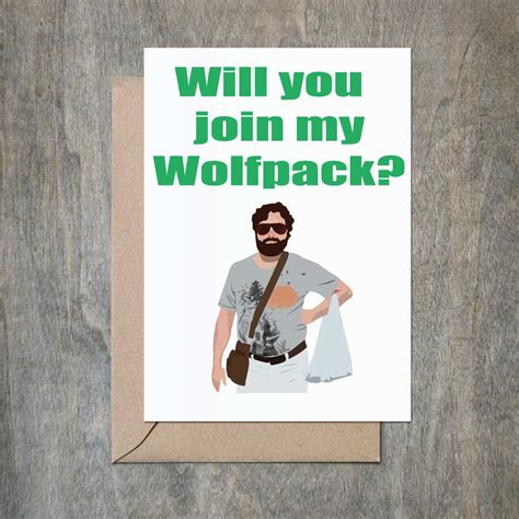 will you be my pictures will you join my wolfpack card will you be my groomsmen