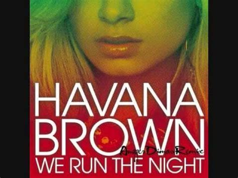 Download Mp3 Gratis Havana Brown We Run The Night | havana brown ft pitbull we run the night original mp3