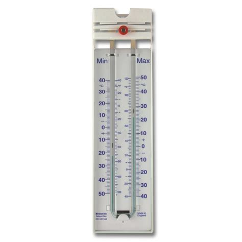 Thermometer Max Min magnet re set max min thermometer 12 407 3 brannan