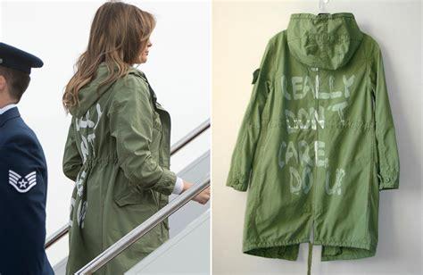 melania s i really don t care do u jacket