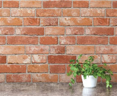 self adhesive removable wallpaper stone wallpaper peel and wallstickery brick pattern contact paper prepasted
