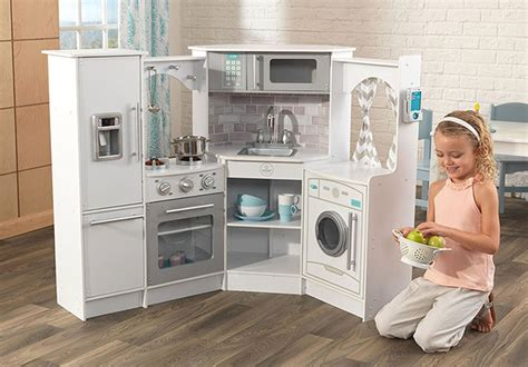 Kidkraft Ultimate Corner Play Kitchen With Lights And Sounds White by 132 93 Reg 190 Kidkraft Ultimate Corner Play
