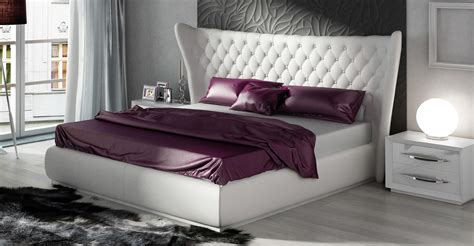 Stylish Leather Luxury Bedroom Furniture Sets Charlotte Miami Furniture Modern