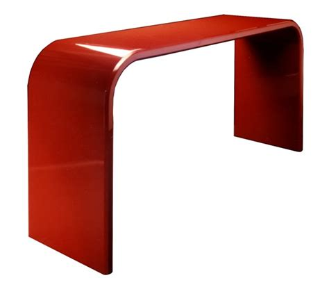 Ikea Sofa Red Lacquer Console Tables Carew Jones