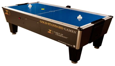 professional air hockey table tournament pro air hockey table gold standard