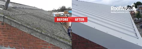 mesothelioma leicester asbestos re roof with metal sheeting leicester roofwise 0116 2662349