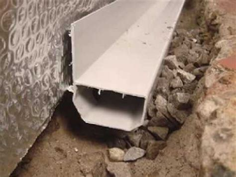basement waterproofing with thermal home