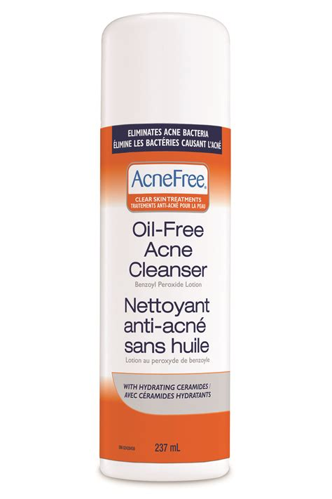 Acne Care Cleanser acnefree free acne cleanser reviews in acne treatment