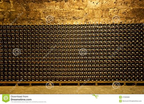The Time Cellar wine cellar stock photo image of cool bordeaux