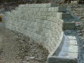 retaining walls osco construction group