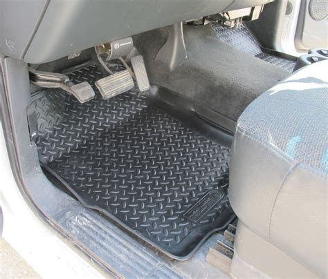 2005 Silverado Floor Mats by Husky Liners Classic Custom Auto Floor Liners Front