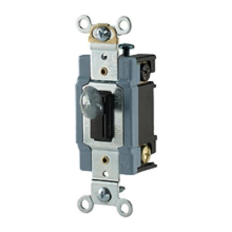 Locking Switch Shop Cooper Wiring Devices 30 Brown Single Pole