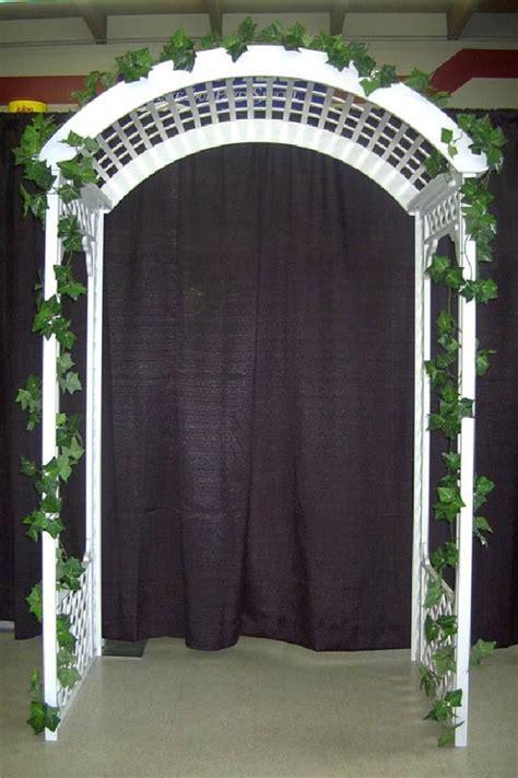 Wedding Arch Rental Seattle by Arch White Wood Lattice Rentals Edmonds Wa Where To Rent