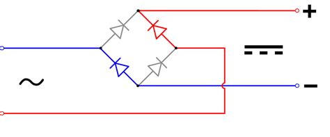 rectifier diode wiki file diode bridge alt 2 svg