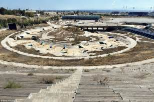 olympic venues athens olympic games venues lie abandoned and left to