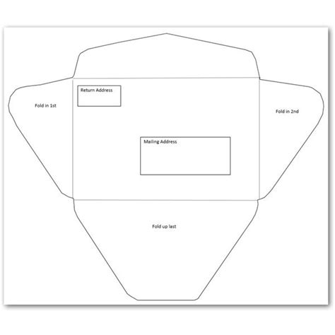 size envelope template 5 free envelope templates for microsoft word