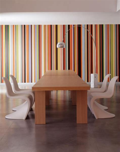 Tapisserie Rayures Grises by Tapisserie Rayures Style Paul Smith Tapisseries Designs